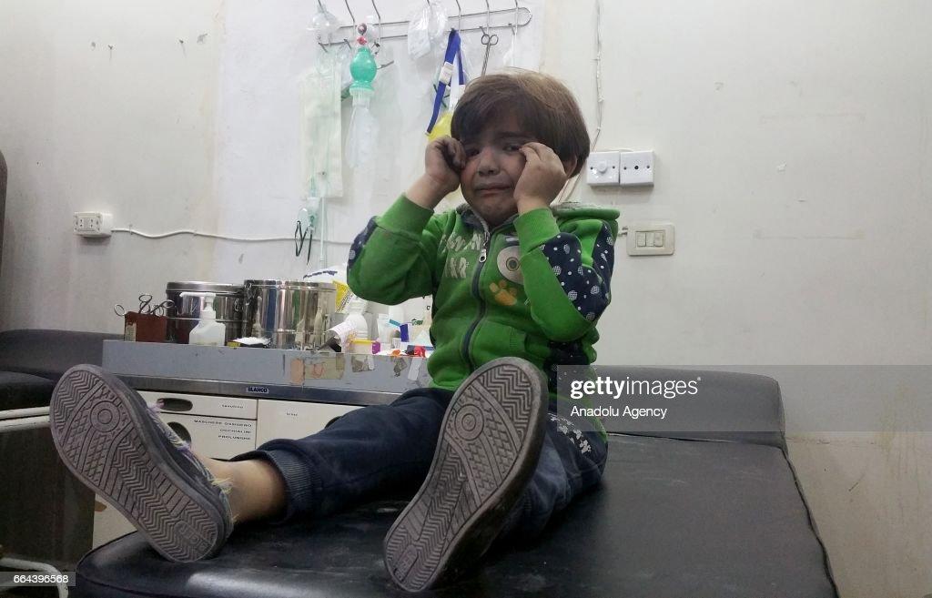 Civilians killed in Assad Regime attacks in Syria : News Photo