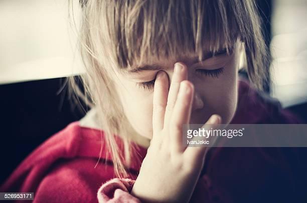 Child headache and disbelief