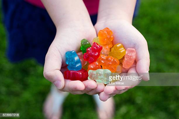 Child Holding Candy