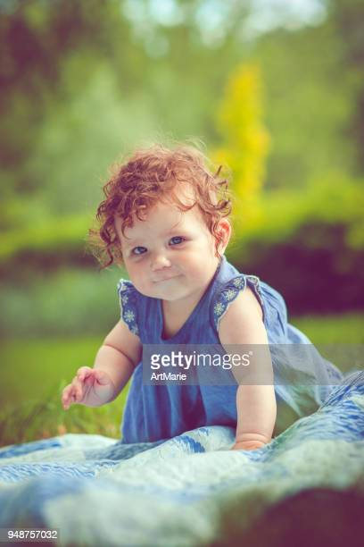 Kind im Park im Sommer