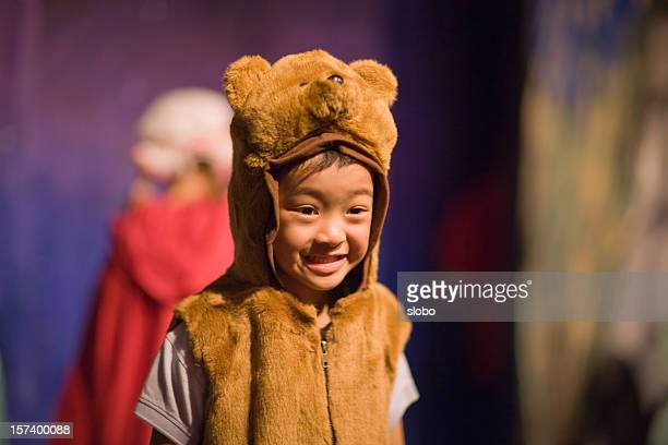 Child In Preschool Theater Play