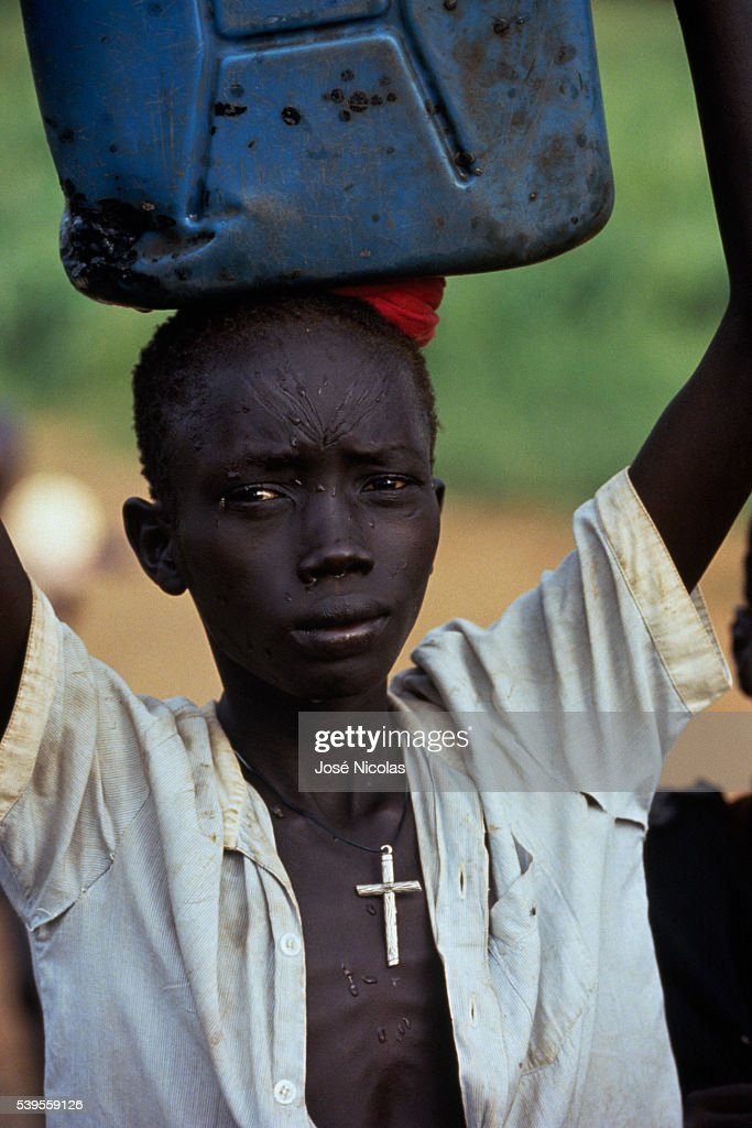 Child in Southern Sudan : News Photo