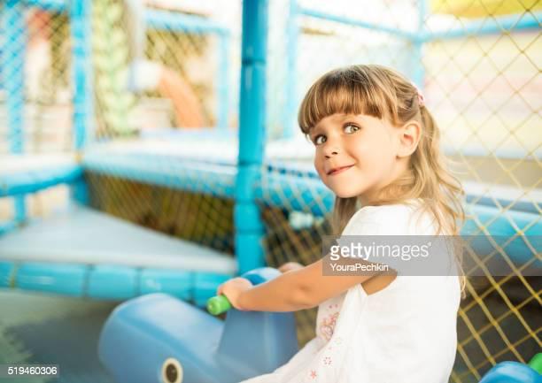 Child in the playground