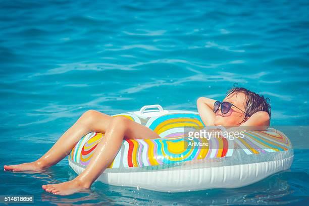 Criança no Mar