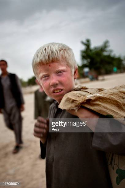 A child in the street May 19 2009 in Dashte Qal'eh Afghanistan