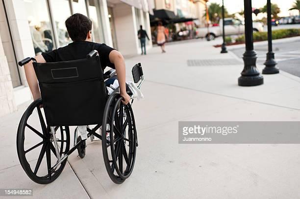 Child in wheel chair