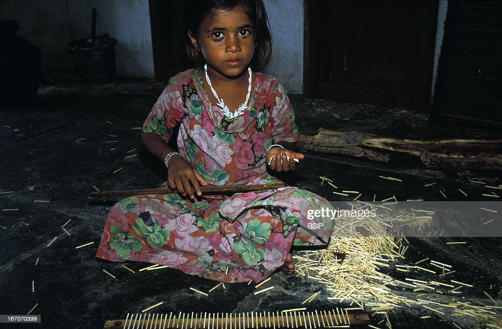 Child labor, Child labor in the Sivakasi match factory in