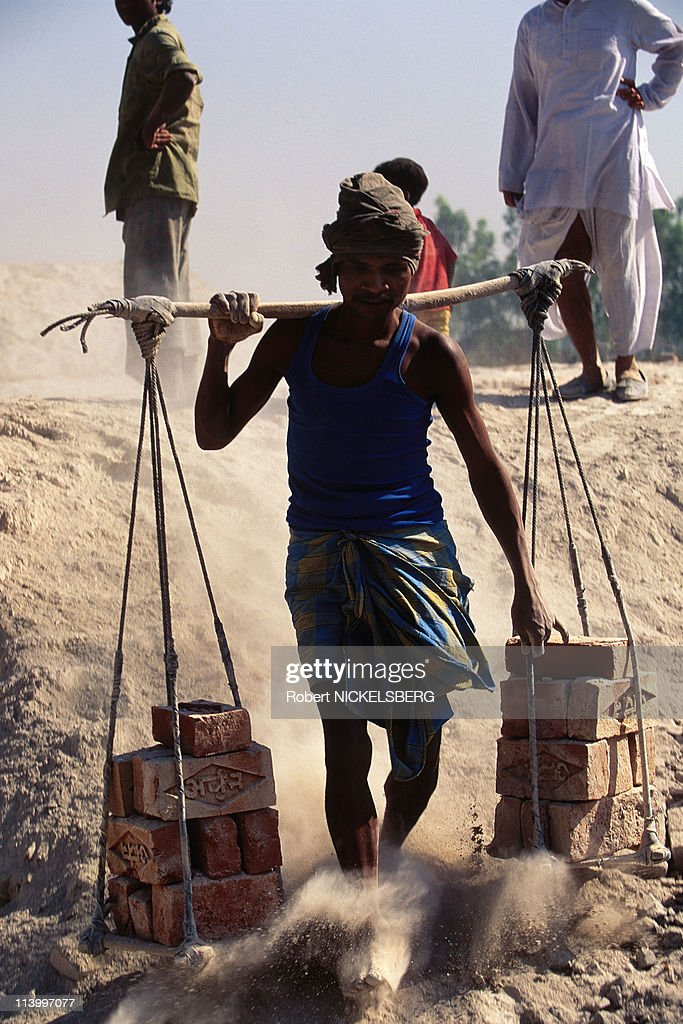 Child Labor In India In 1996- : News Photo