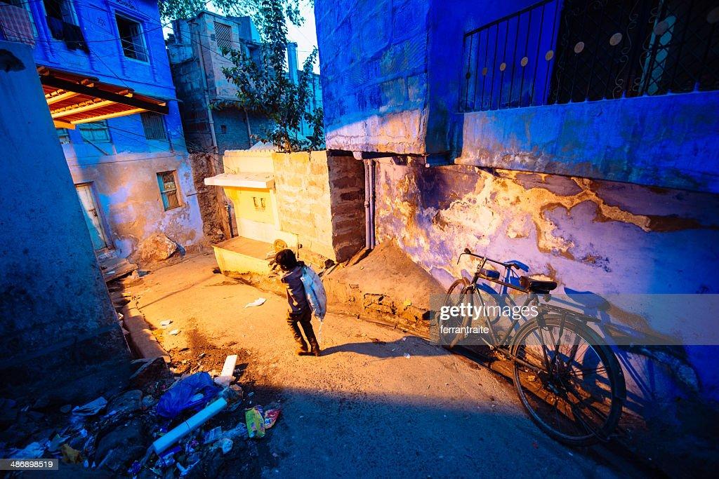 Child Labour in India : Stock Photo