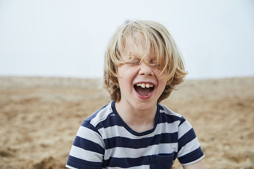 Child laughing - gettyimageskorea