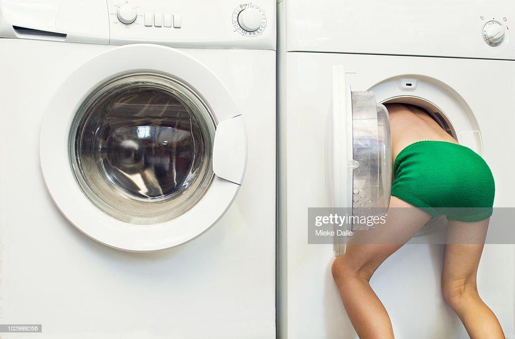 Секс видео в стиральной машинке, подборка зрелых дам эротика