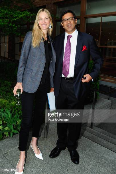 Child Mind Institute Board Members Christine Mack and Ram Sundaram attend the 2018 Change Maker Awards at Carnegie Hall on May 7 2018 in New York City