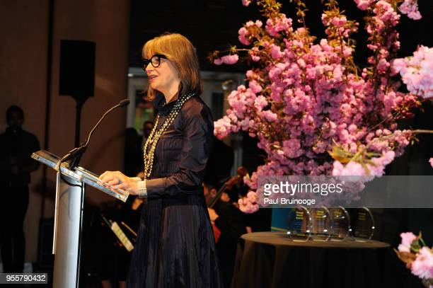 Child Mind Institute Board of Directors CoChair Brooke Garber Neidich speaks onstage during the 2018 Change Maker Awards at Carnegie Hall on May 7...