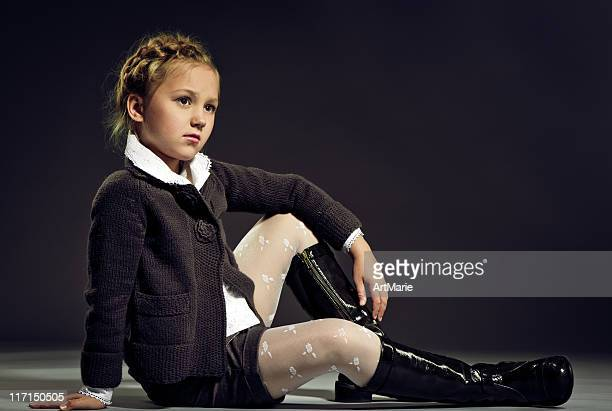child model - young tiny girls stock photos and pictures