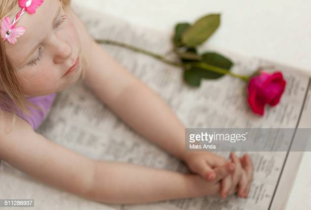 Child mourning the loss of a person
