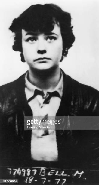 Child murderer Mary Flora Bell, pictured nearly ten years after she was sentenced to life imprisonment for the murder of Martin Brown and Brian Howe,...