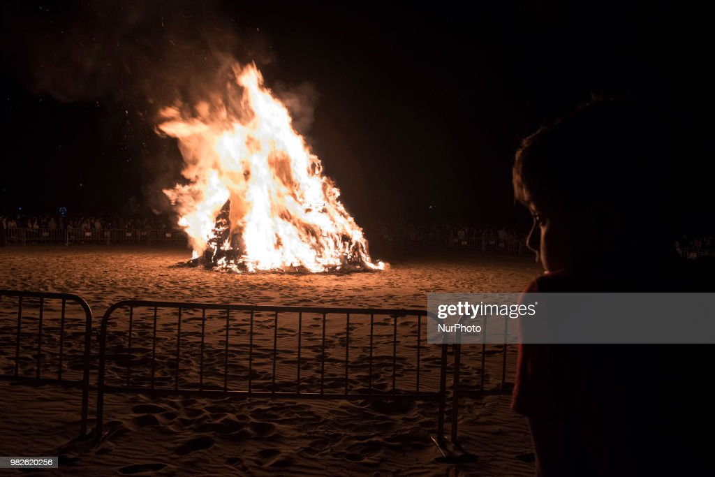 Bonfires In The Night Of San Juan