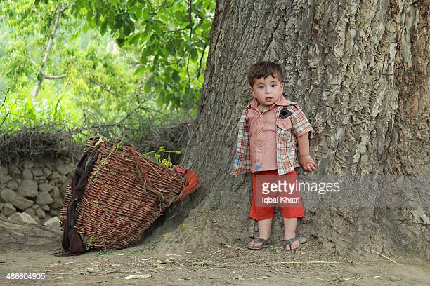 a child of hunza - cute pakistani boys stock photos and pictures