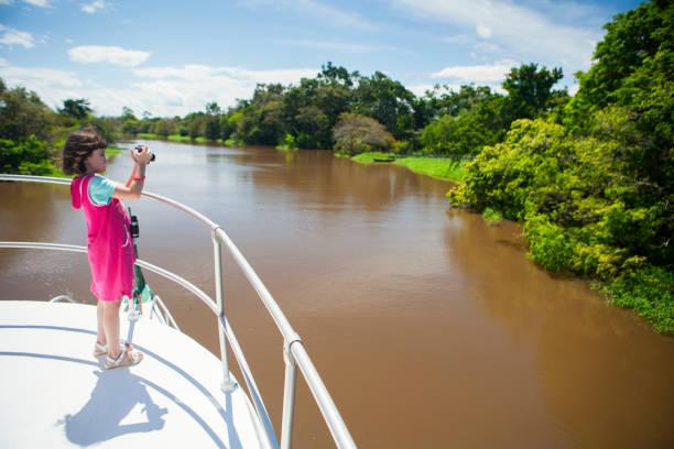 Child on Amazon River