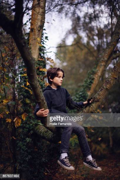 Child on an Autumn Walk