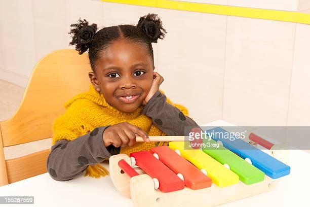Child on Xylophone