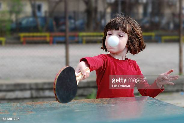 child playing ping pong - funny ping pong stock pictures, royalty-free photos & images