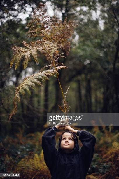 Child playing with Branch