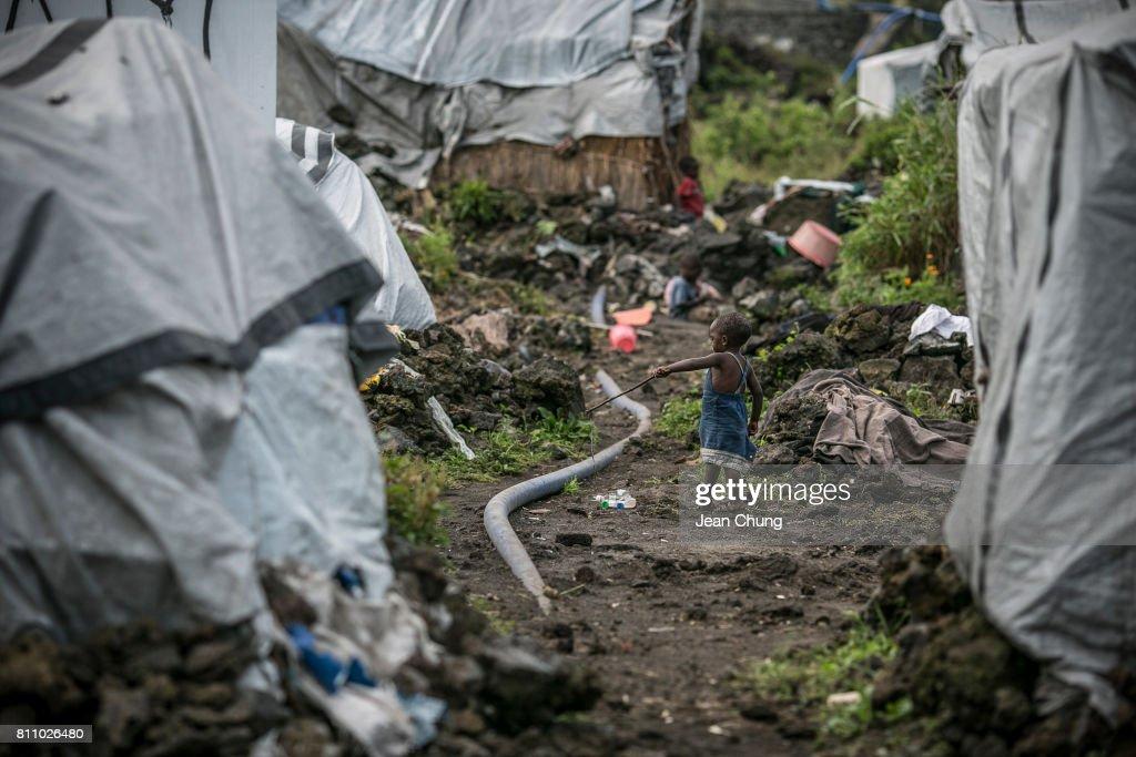 Crisis Deepens For The Internally Displaced At Democratic Republic Of Congo : Foto jornalística