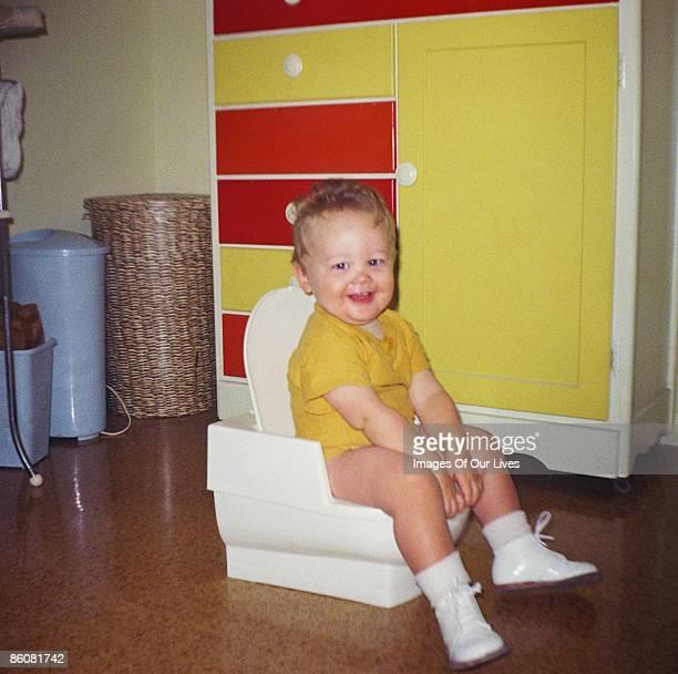 Child potty training