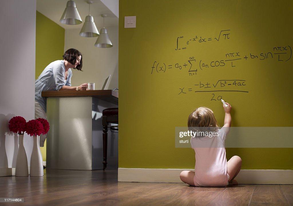 child prodigy : Stock Photo