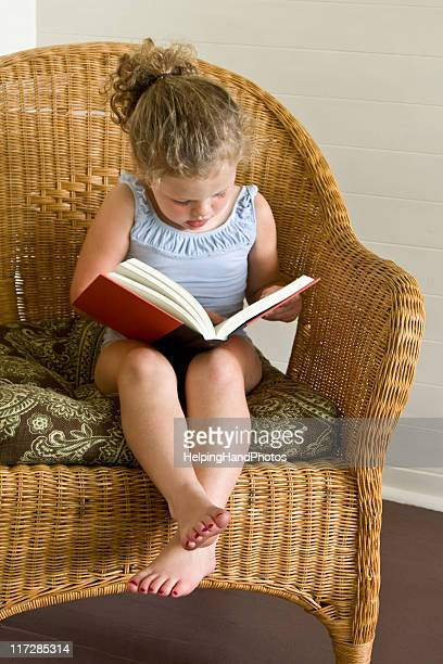 child reading - barefoot stock pictures, royalty-free photos & images
