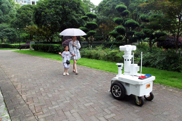CHN: 5G Patrol Robot In Taizhou