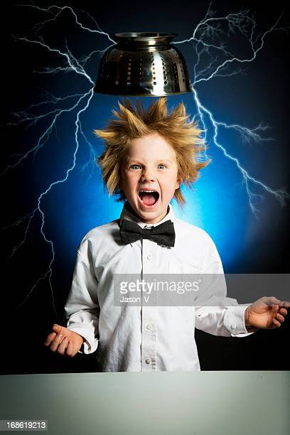 Child scientist Electrocuted