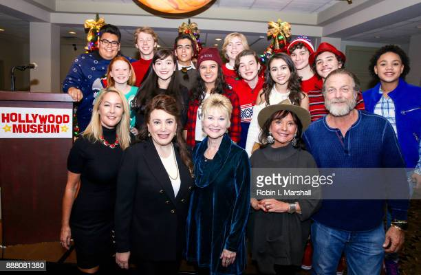 Child Stars Erin Murphy Donelle Dadigan Dee Wallace Dawn Wells and Darby Hinton attend the Holiday Tour of the Hollywood Museum at The Hollywood...