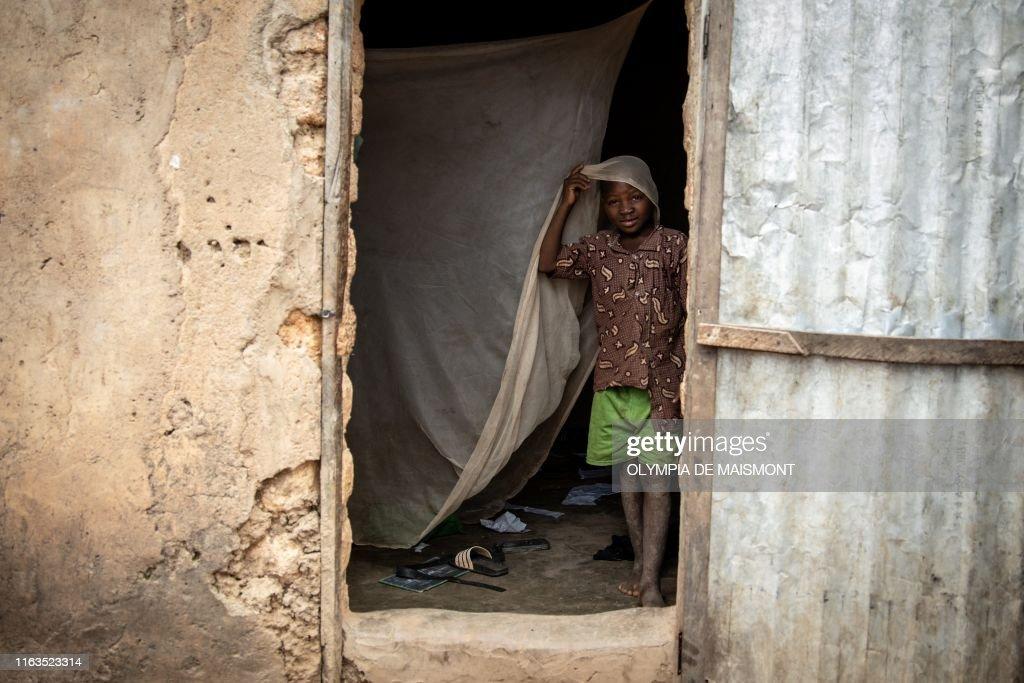 BURKINA-MALARIA-HEALTH-SCIENCE-TREATMENT : News Photo