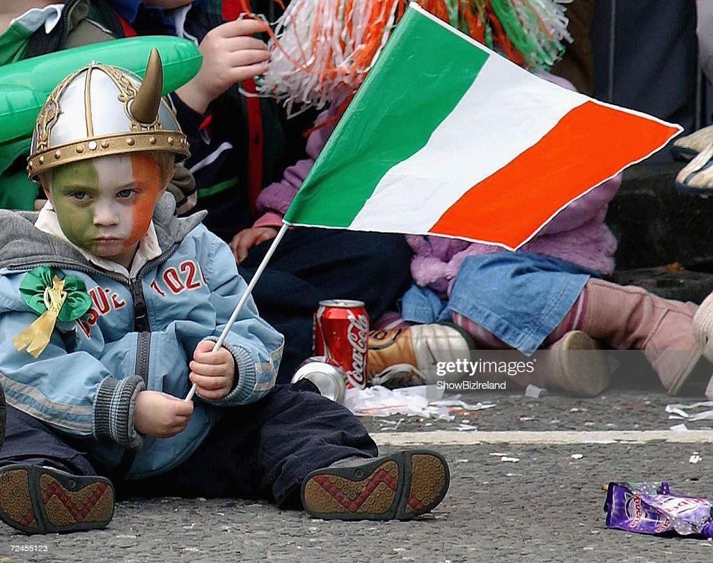 St. Patrick's Day Parade In Dublin : News Photo
