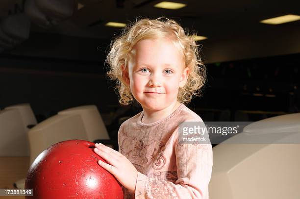 Child with Bowling Ball