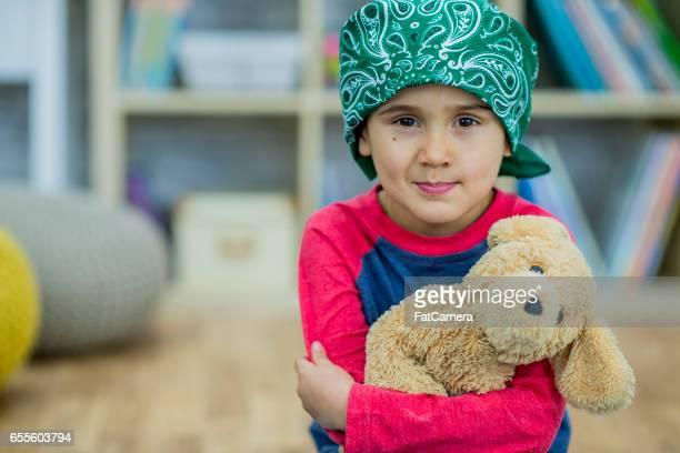 Niño con cáncer