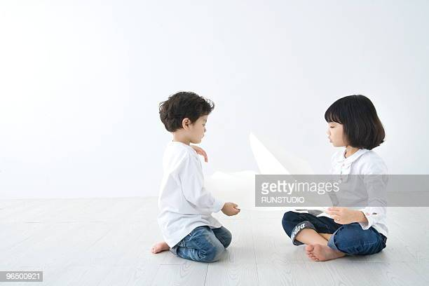 child with family