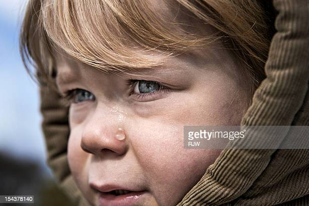Child with Hood crying