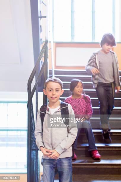 Childen at school