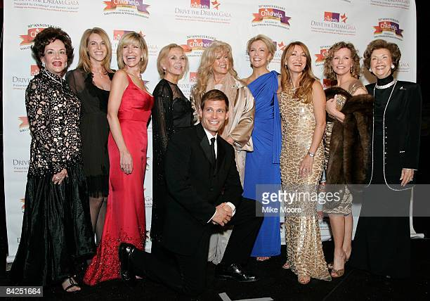 Childhelp founder Sara O'Meara, actress Catherine Oxenberg , singer Debbie Boone, actress Deanna Lund, singer Connie Stevens, Fox new anchor Megyn...