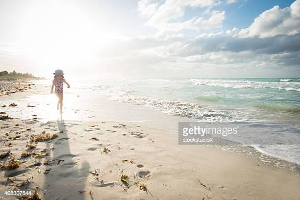 Childhood beach vacation