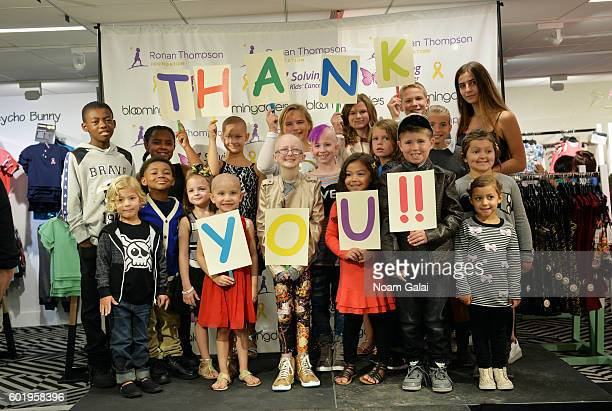 Childhood cancer fighters and survivors walk the runway at the 3rd Annual Runway Heroes 2016 at Bloomingdale's on September 10 2016 in New York City