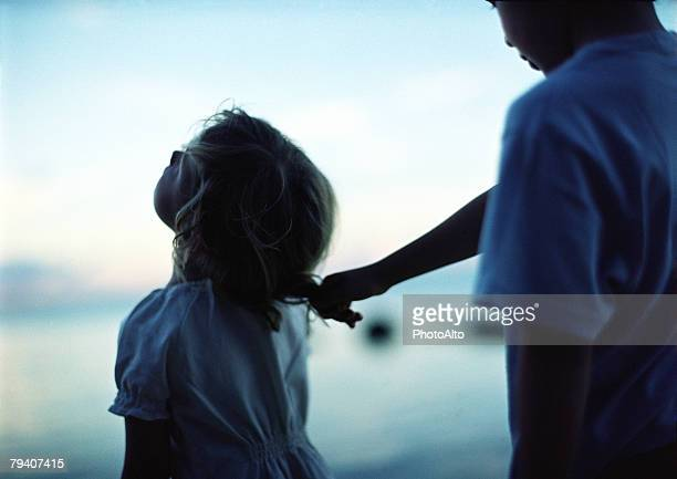 childhood innocence, thierry foulon, paa241000049 - nasty little girls stock photos and pictures