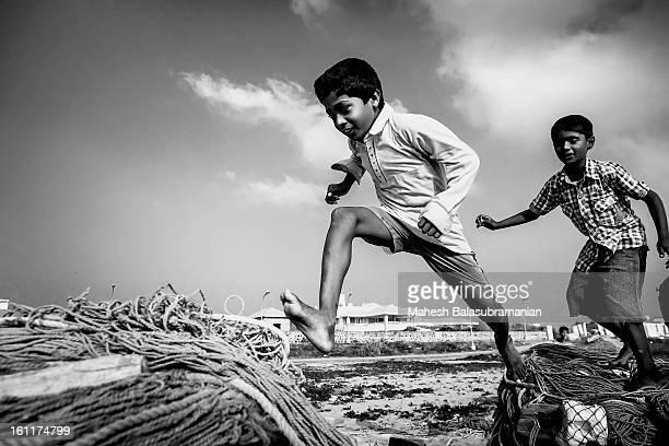 Childhood Joy @ Thiruvanmiyur Beach, Chennai