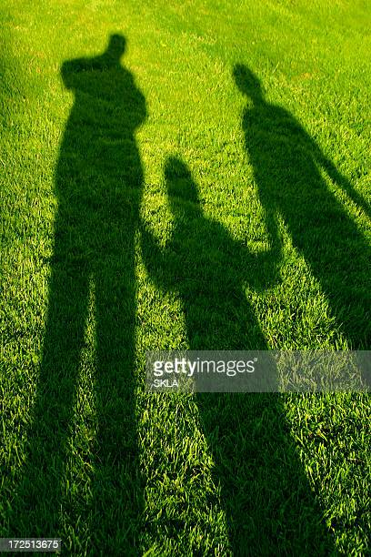 Childhood memories - shadow family