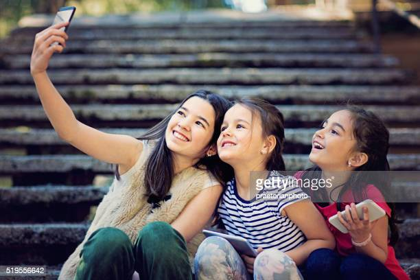 childhood - petite teen girl stock photos and pictures