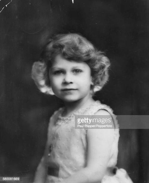Childhood portrait of the future Queen Elizabeth II 1931