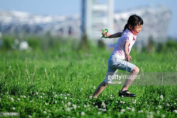 childhood - xlarge - kite toy stock pictures, royalty-free photos & images